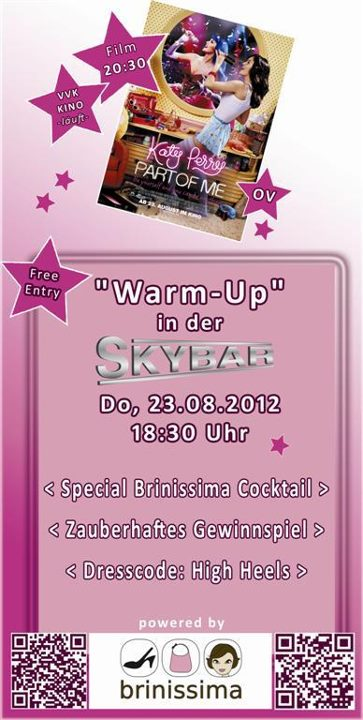 """Katy Perry's """"Part of me"""" mit Brinissima – Warm Up"""