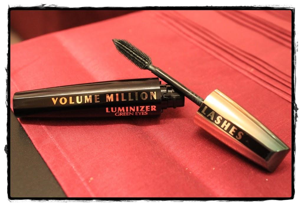 Review: L'Oréal Paris Volume Million Lashes Luminizer Mascara für grüne Augen