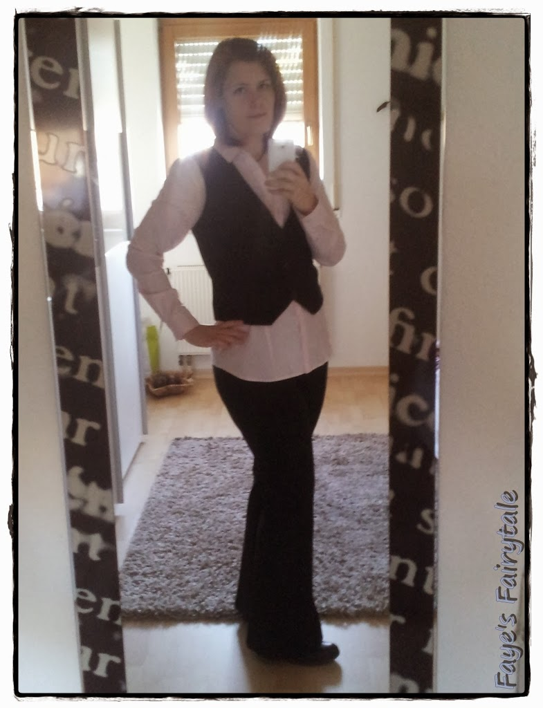 Outfit-Post 'Messedienst' mit Countdown