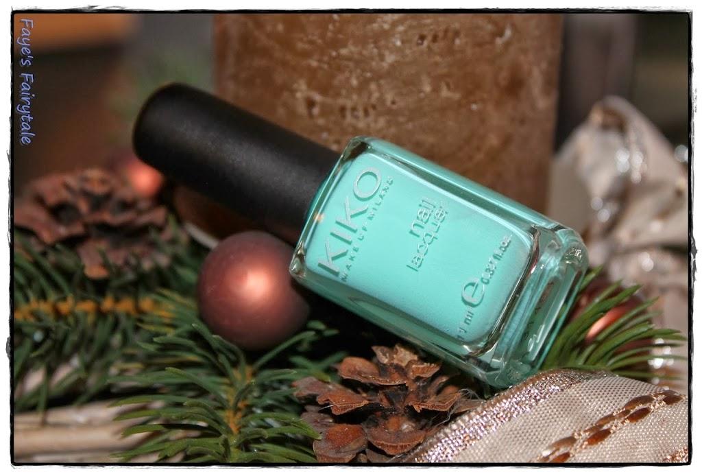 New in: Kiko Cosmetics Nagellack (& Gewinnerbekanntgabe des Adventskalenders)