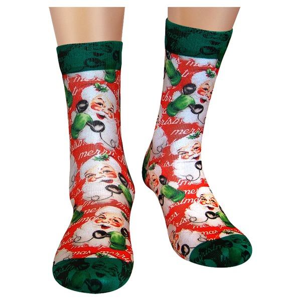 Wigglesteps Damen Socken Santa