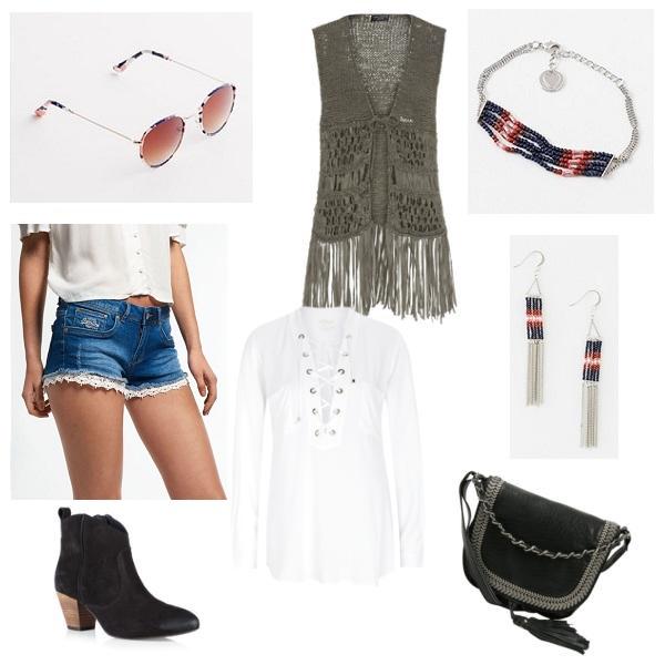 Shopping Queen – Mein Look zum Wochenmotto: Festival-Look