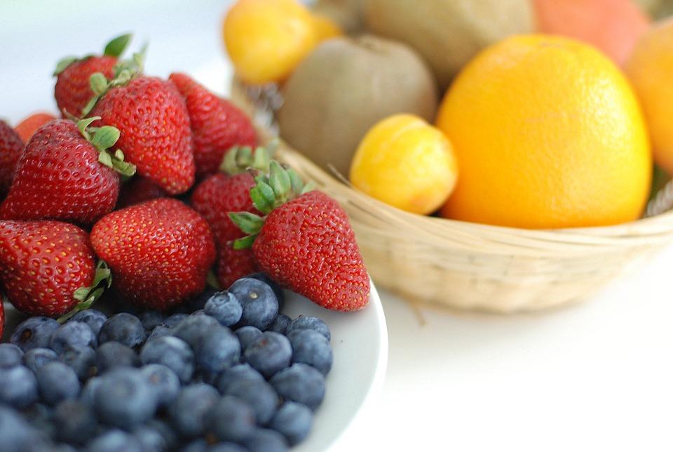 Fruchtige Erfrischung im Sommer