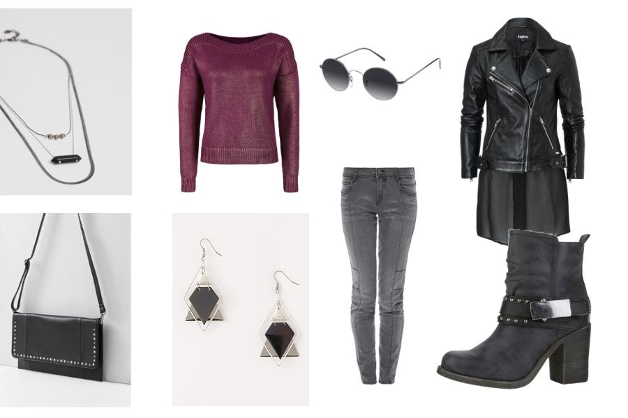 Shopping Queen – Mein Look zum Wochenmotto: Biker-Look